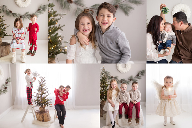 holiday photo mini sessions studio pittsburgh