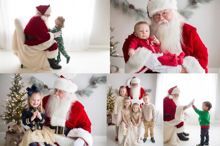 Santa photo mini sessions studio Pittsburgh