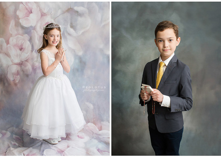 first holy communion photos pictures mini session studio Pittsburgh